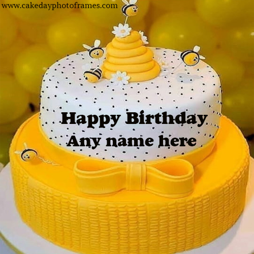 happy birthday cake with name free download
