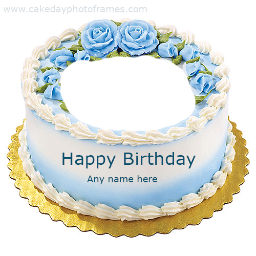 Brilliant Birthday Cake With Name And Photo Editor Online Free Download Funny Birthday Cards Online Overcheapnameinfo