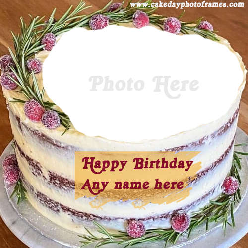 Peachy Name Editor Happy Birthday Cake With Name Edit Cakedayphotoframes Funny Birthday Cards Online Overcheapnameinfo