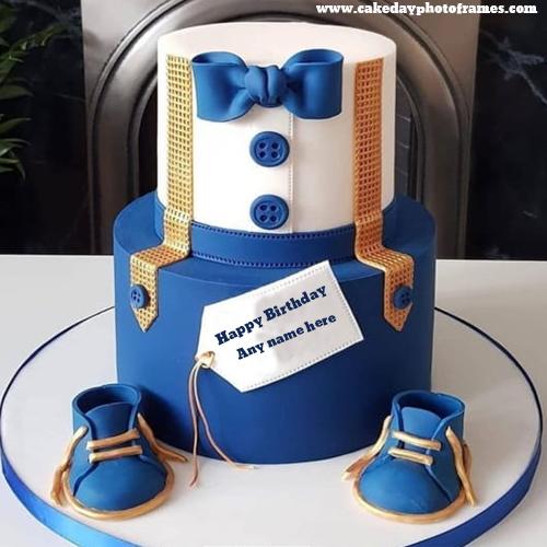 Write A Name On Prince Birthday Cake Image Cakedayphotoframes