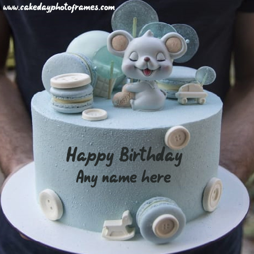 Online Happy Birthday Wishes Cake With Name Of Him And Her Cakedayphotoframes