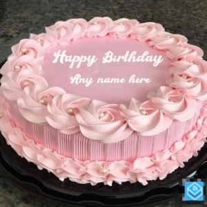 Happy birthday card with Name editing Image