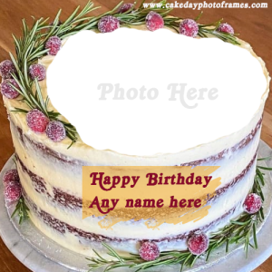 Incredible Popular Birthday Cake With Name And Photo Editor Online Free Personalised Birthday Cards Epsylily Jamesorg