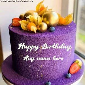 Special Happy Birthday Cake with Name Online