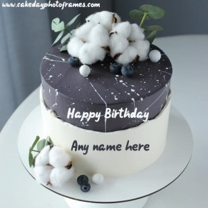 Fantastic Popular Birthday Cake With Name And Photo Editor Online Free Funny Birthday Cards Online Overcheapnameinfo