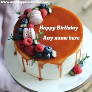 Best Birthday Wish with Name on Birthday Cake
