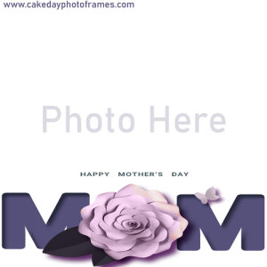 Mother's day greetings with free online photo frame