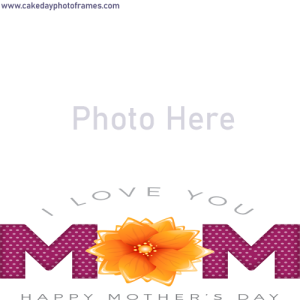 happy mothers day 2020 wishes photo frame online free