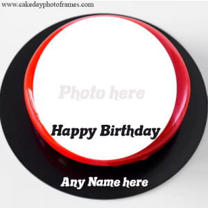 Online Birthday Cake with Name and Photo option for free