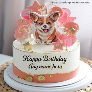 Amazing Happy Birthday wishes Cake with Name free
