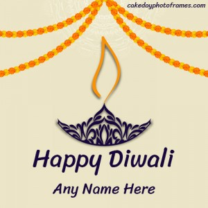 Happy Diwali 2020 greeting cards online free Editor
