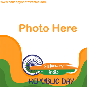 republic day 2021 photo frame online editor