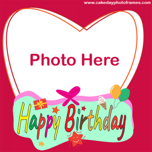 online birthday card maker with photo
