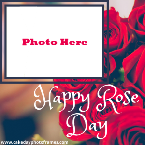 happy rose day photo editing online