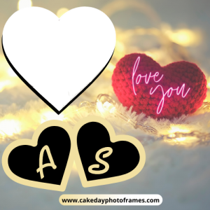 Love Alphabet Card with Amazing Couple Photos