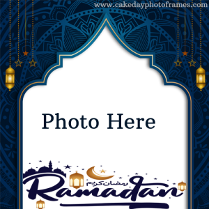 Happy Ramadan wishes with photo editor images