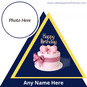 Download happy birthday card with name and photo edit