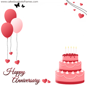 Happy Anniversary Card With photo online
