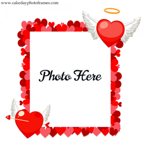 Create Love Photo frame with Picture of Love Birds